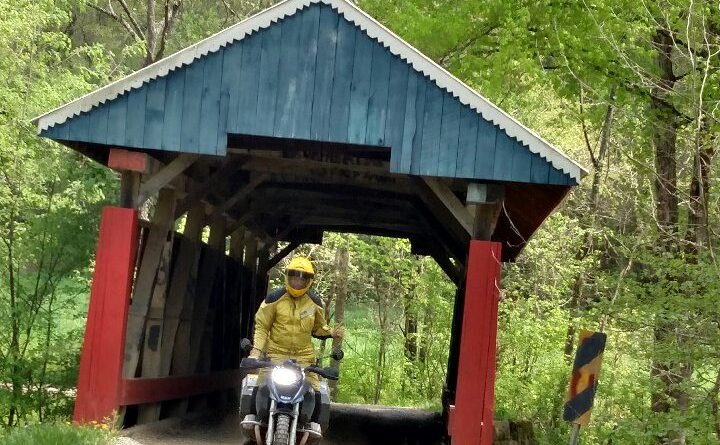 Indiana Covered Bridge Ride – July 22-25, 2021