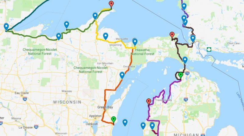 Lake Superior Circle Tour – 2018